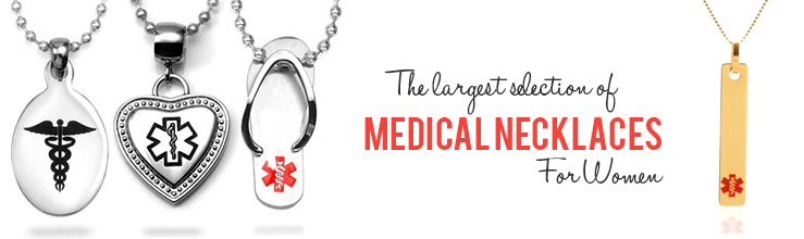Medical Alert Necklaces For Women