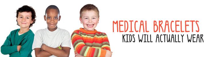 Id Bracelets For Kids Medical Alert Bracelets For Kids