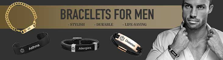 Medical Bracelets For Men