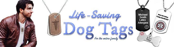 Medical Dog Tags