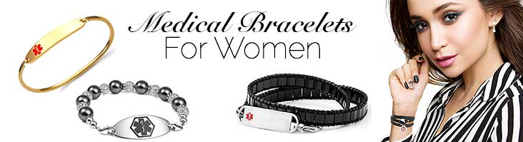 Medical Alert Bracelets for Women
