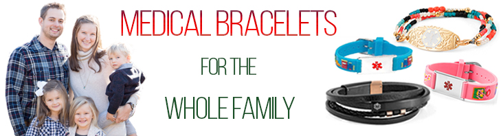 customized medical alert bracelets