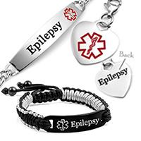 emergency ID epilepsy bracelets