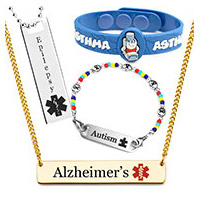medical bracelets for specific conditions