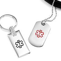 medical key chains