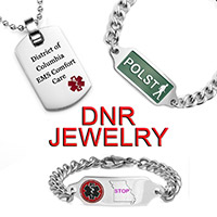 DNR bracelets for every state