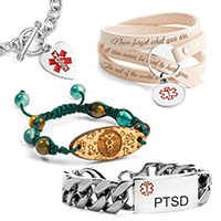 Medical Alert Jewelry | Sticky Jewelry