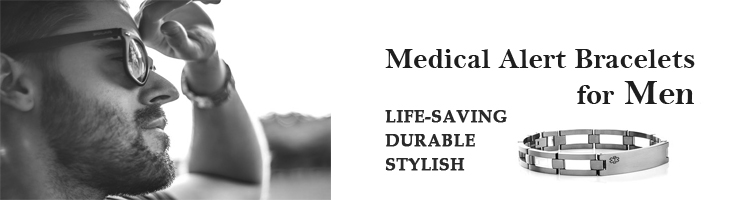 Medical Alert Bracelets For Men