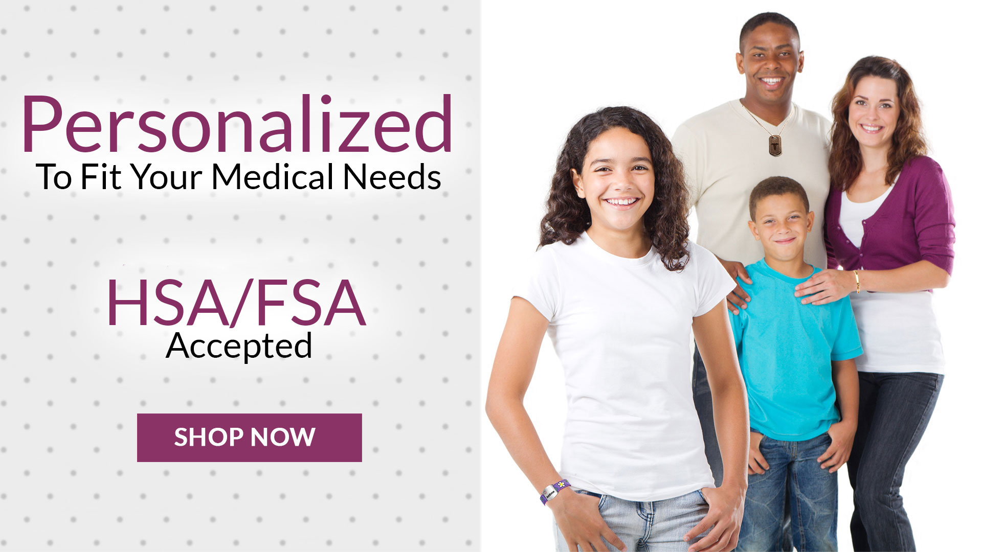 Medical IDs for the Entire Family
