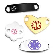 medical tags for medical alert bracelets