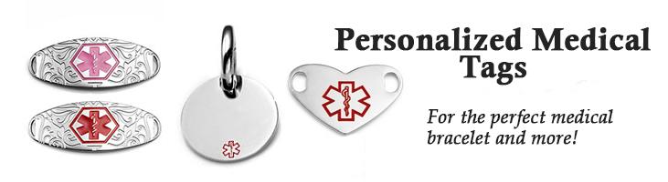 custom medical ID tags