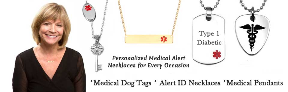 emergency ID medical alert necklaces