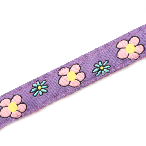 Girls Flower Sport Band Kids ID Bracelet 4 - 8 Inch inset 4