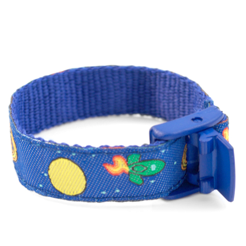 Space Mission Medical Sport Band Bracelet 4 - 8 Inch inset 2