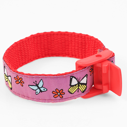 Butterfly Sport Band Medical Bracelets for Kids  inset 2