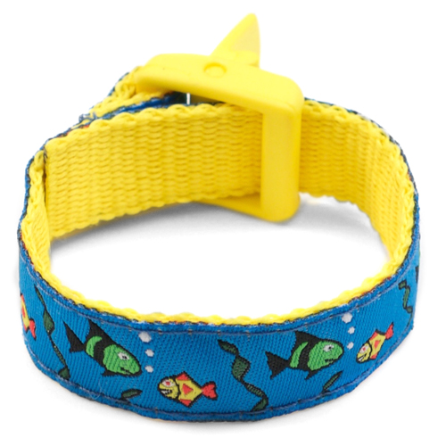Fish Sport Band Medical Bracelets for Kids  4 - 8 Inch inset 3