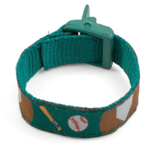 Baseball Medical Sport Band Bracelet for Boys or Girls 4 - 8 Inch inset 3