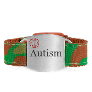 Engraved Autism Bracelet for Children in Multiple Patterns inset 1