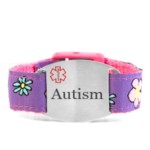 Engraved Autism Bracelet for Children in Multiple Patterns inset 2
