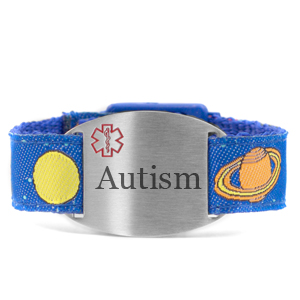 Engraved Autism Bracelet for Children in Multiple Patterns inset 3