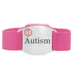 Engraved Autism Bracelet for Children in Multiple Patterns inset 5