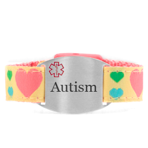 Engraved Autism Bracelet for Children in Multiple Patterns inset 7
