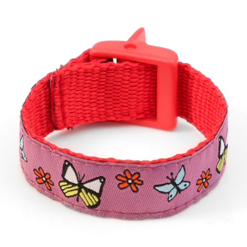 Butterfly Sport Band Medical Bracelets for Kids  inset 3