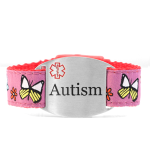 Engraved Autism Bracelet for Children in Multiple Patterns inset 8