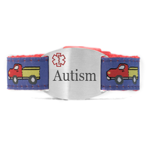 Engraved Autism Bracelet for Children in Multiple Patterns inset 9