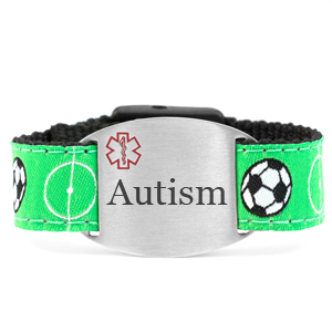 Engraved Autism Bracelet for Children in Multiple Patterns inset 10