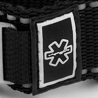 Black Sport Strap Autism Bracelet inset 2