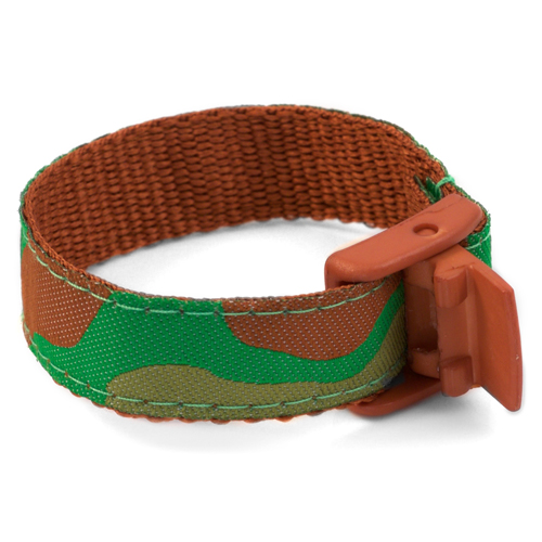 Camouflage Safety Bracelet  Fits 4 - 8 In Wrists inset 2