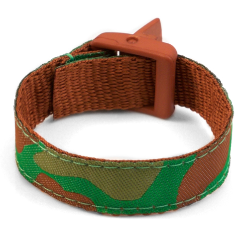 Camouflage Safety Bracelet  Fits 4 - 8 In Wrists inset 3