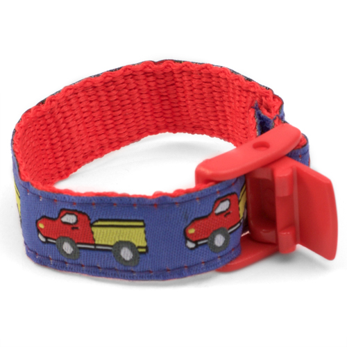 Child Truck Stop Safety ID Bracelet  inset 2