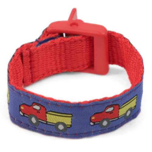 Child Truck Stop Safety ID Bracelet  inset 3