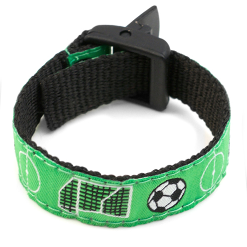 Soccer Star Safety Bracelet for Children Fits 4 - 8 In Arms inset 3