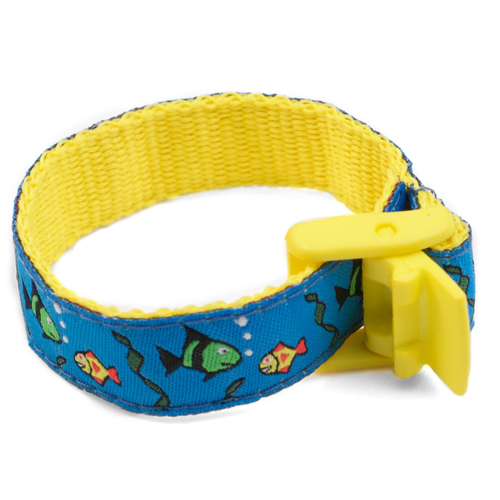 Fishy Friends Safety ID Bracelet for Kids inset 2