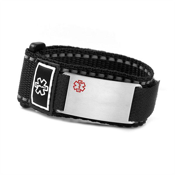 Athletic Medical Bracelet Pack Fits 5 1/2 - 8 Inch inset 3