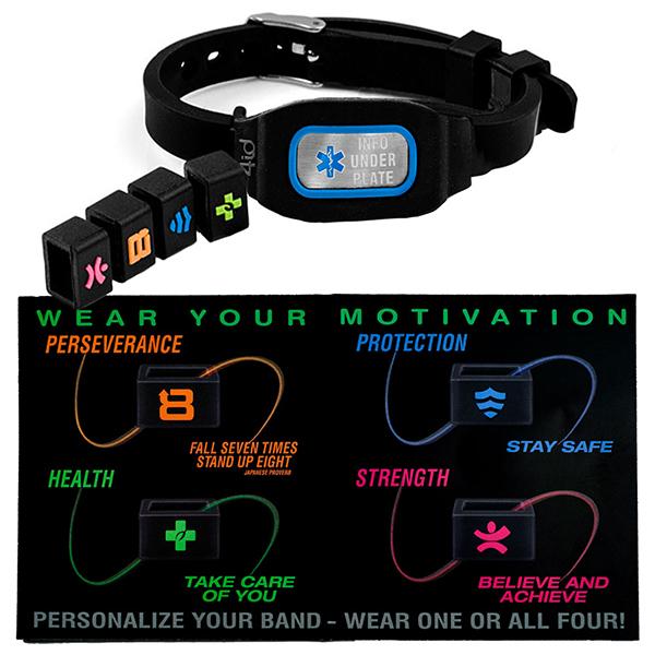 Sports ID Medical Bracelets inset 1
