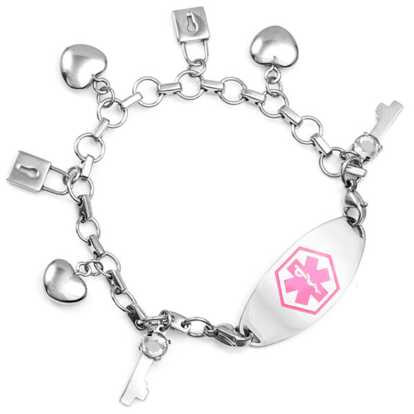 You are the Key Charm Bracelets inset 2