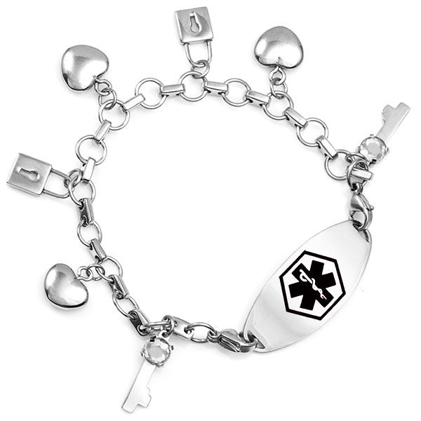 You are the Key Charm Bracelets inset 3