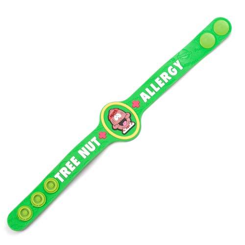 Nutso Nut Allergy Childrens Bracelet  inset 1