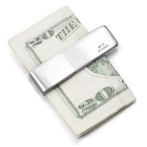 Brushed Accent Sterling Silver Money Clip 2 In inset 2