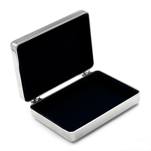 Silver Personalized Jewelry Box inset 1