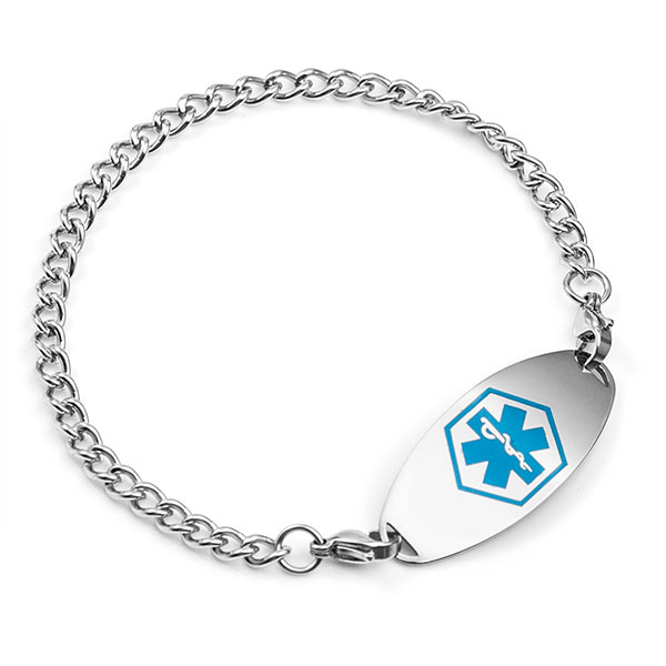 Stainless Medical Alert Bracelet for Tag inset 3