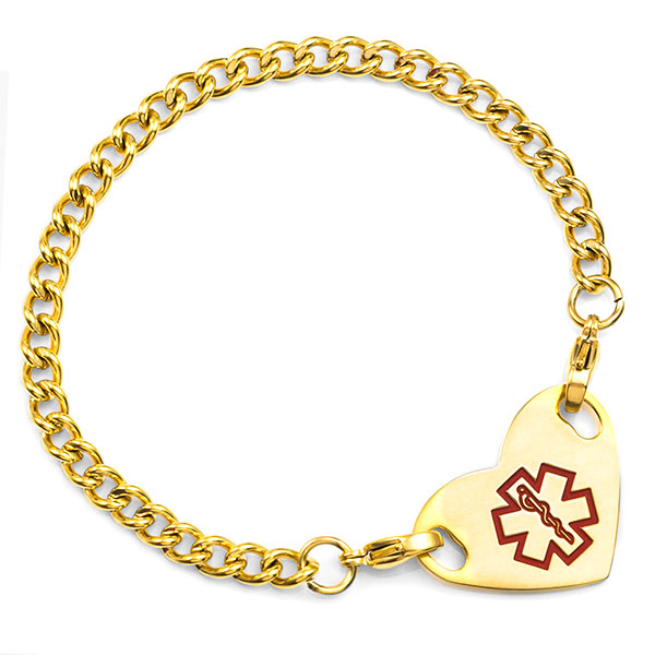 Four Inch Gold Plated Chain with 2 Lobster Clasp Ends  inset 1
