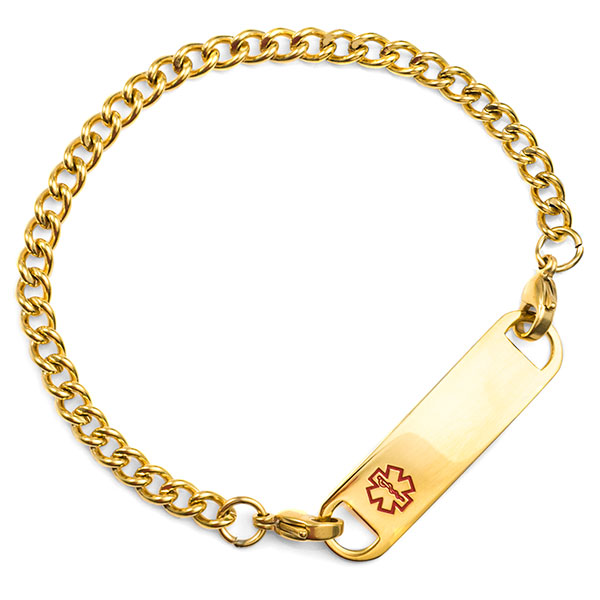 5.5 Inch Gold Plated Chain With Lobster Clasp Ends  inset 2