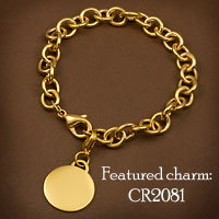 Gold Plated Stainless Bracelets for Charms  inset 2
