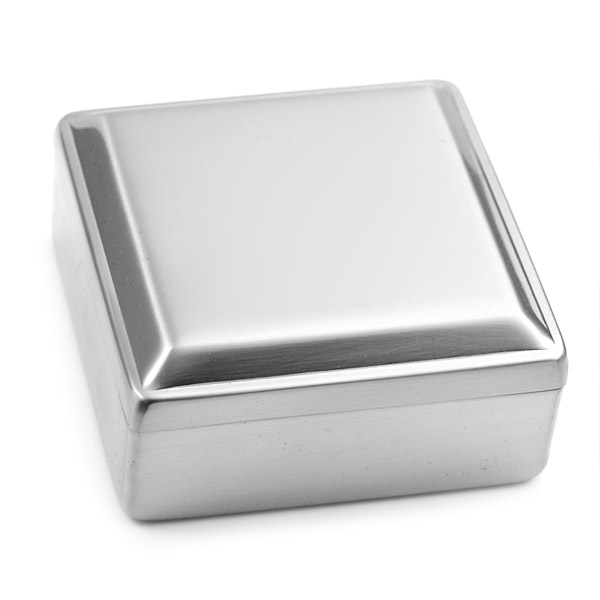 Silver Personalized Gift Box for Jewelry inset 1