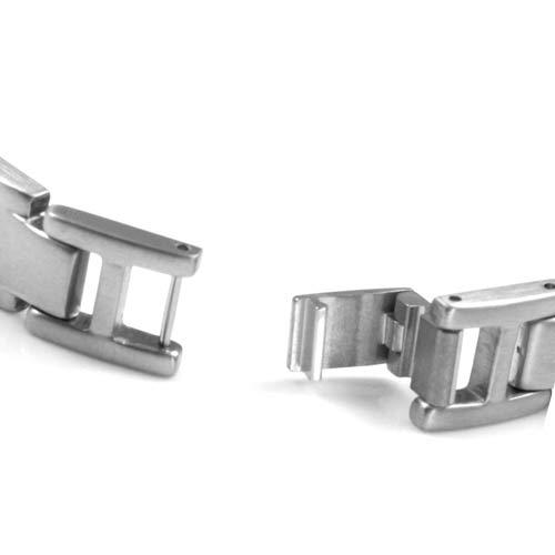 Benedict Steel Link Medical ID Bracelet  inset 2